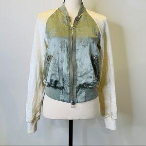 Vintage PRELOVED Silk Bombard Jacket By PhilipLim